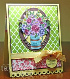 More is More » Mixed Blooms by Taylored Expressions - card by Jami