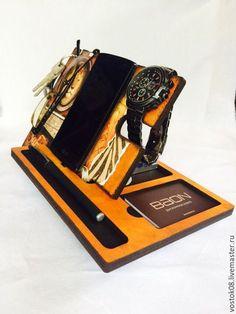 Мебель ручной работы. Ярмарка Мастеров - ручная работа. Купить органайзер Все на месте. Handmade. Оранжевый, сафари, органайзер для хранения