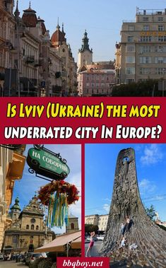 Lviv is a city we had never heard of before this year. We ended up staying a month in Lviv…and loved it. So is it Europe's most underrated city? Here's why we think so. #bbqboy #lviv #Ukraine #travel