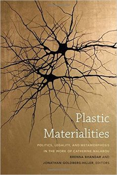 Catherine Malabou's concept of plasticity has influenced and inspired scholars from across disciplines. The contributors to Plastic Materialities—whose fields include political philosophy, critical legal studies, social theory, literature, and philosophy—use Malabou's innovative combination of post-structuralism and neuroscience to evaluate the political implications of her work.