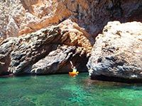 Kayaking around the walled city of Dubrovnik