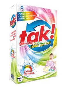 TAK!  Color Perfect proszek do prania 400g/5 prań