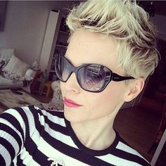 Suzanna Strand's short blonde hairstyles 2017 @ Pictures Co UK