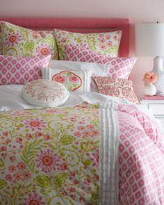 Dena Home Ikat Blossom Bed Linens