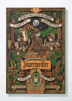 Jägermeister - 56 Parts - Best as One on Behance