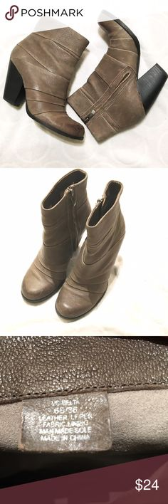Vince Camuto booties size 6 EUC - almost brand new!! Vince Camuto Shoes Ankle Boots & Booties