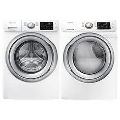 4.2 cu. ft. Front-Load Washer & 7.5 cu. ft. Front-Load Dryer Bundle
