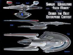 Starship Enterprise concept by Shawn Weixelman An entry for the Design the Next Enterprise contest