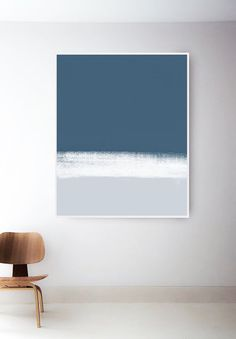 Abstract Blue and White Art Print. Dark Blue and White Print. Modern Blue Wall Art - All For Herbs And Plants Interior Design Boards, Interior Paint, Art Bleu, Nursery Paintings, Nursery Prints, Nursery Art, Art Paintings, Baby Room Diy, Diy Baby