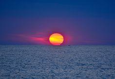 Quando il sole incontra il mare-When the sun meets the sea (explore 7-7-2013 ) | Flickr - Photo Sharing!