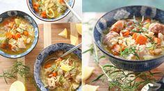 Tento pokrm sice vypadá trochu jako polévka, ale rozhodně je důstojným a především sytým hlavním chodem. Díky orzo těstovinám si dostatečně zaplníte žaludek a vývar vás v těchto mrazivých dnech výborně zahřeje!