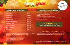 New Year 2015 Tariff - Grand Palace Hotel & Spa