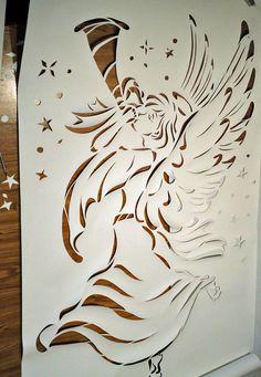 Christmas Angel Banner by Window-Climber.deviantart.com on @deviantART