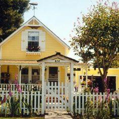 cottage picket fence