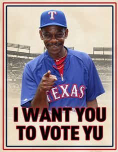 Repin if you agree!  #VoteYu! #finalvote #ASG2012 @Major League Baseball  @Texas Rangers