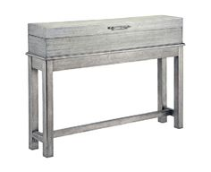 Silver Console by CORT. Beautiful silver accent table! Great for a living room or foyer. | cort.com