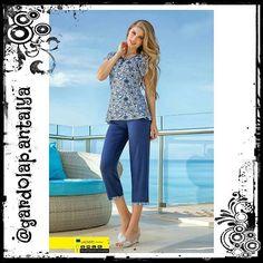 Fiyat: 44.90 TL #Takım #Bluz #Capri #Patlı #Lycra #Pamuk #Cotton Renk: #Lacivert #Desenli Beden: Small Medium Large XLarge  #Sipariş için DM veya WhatsApp 05415831737 #PTTKargo ile Kapıda Ödeme.  #Gununfotografi #Pictureoftheday #Photooftheday #Shoutout #Outfitoftheday #Fashion #Moda #Aşk #Love #Kadın #Giyim #Black #Antalya #Turkiye