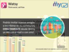myG21 watsy (+playlist)