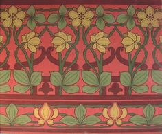 Briar Rose - Historic Wallpapers - Victorian Arts - Victorial Crafts - Aesthetic Movementwww.aestheticinteriors.com