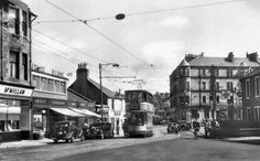 view of tram at Clarkston Glasgow Scotland, Scotland Travel, Old Pictures, Old Photos, Glasgow City, Local History, Beautiful Places To Visit, Street View, Blackpool