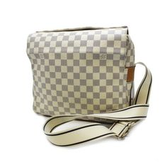 Louis Vuitton Naviglio  Damier Azur Cross body bags White Canvas N51189