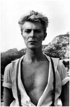 Bare-chested Bowie
