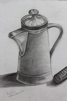 3d Art Drawing, Pencil Sketch Drawing, Object Drawing, Anime Drawings Sketches, Pencil Art Drawings, Drawing Skills, Still Life Pencil Shading, Still Life Drawing, Art Drawings Beautiful