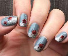Easy Autumn Nail Art Designs