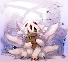 More anime and manga Manga Anime, Anime Art, Mythical Creatures Art, Fantasy Creatures, Abyss Anime, Character Art, Character Design, Anime Devil, Anime Monsters