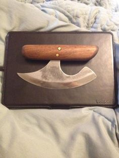 Making a ULU Knife More