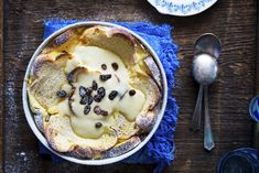 Braided Bread – Ricotta Pudding
