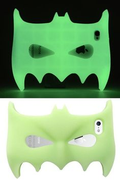 Glow in the Dark Batman 3D iPhone Case [iPhone 5, 5s, 6, 6 Plus] - Shop our entire collection at www.getonfleek.com