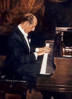 """""""There are three types of pianists. Jewish pianists. Homosexual pianists. and bad pianists."""" -Vladimir Horowitz"""