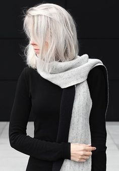 Wonderful White Hair