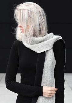 Wonderful White Hair