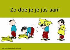 Jas aan