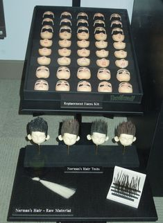 ParaNorman replacement puppet faces and hair test