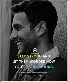 Keep smiling and let them Wonder  -- For More Quotes Follow @idiotic.world  -- #money #motivation #success #cash #wealth #grind #lifestyle #business #entrepreneur #luxury #moneymaker #work #successful #hardwork #life #hardworkpaysoff #businessman #passion #millionaire #love #networkmarketing #businessowner #motivational #desire #entrepreneurship #stacks #entrepreneurs #smile #idiotic_world #instagood