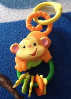 Fisher Price Monkey Keys Baby Teething Toy in Developmental Baby Toys | eBay