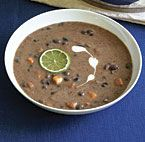 Black Bean Soup with Sweet Potatoes