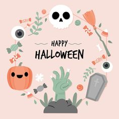 Marcos Halloween, Halloween Mono, Halloween Frames, Halloween Poster, Halloween Stickers, Halloween Cookies, Halloween Design, Cute Halloween, Holidays Halloween