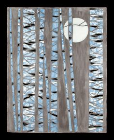 Winter Tree Mosaic