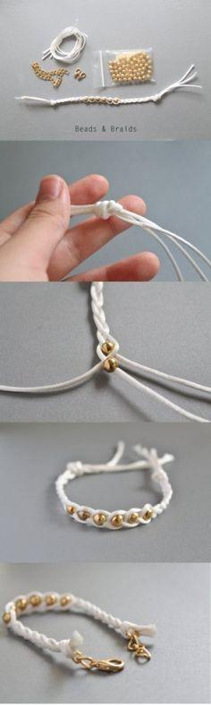 Simple bracelet by AnneArgent