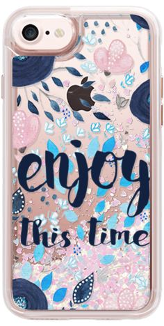 Casetify iPhone 7 Snap Case - Enjoy this time by Li Zamperini Art #Casetify