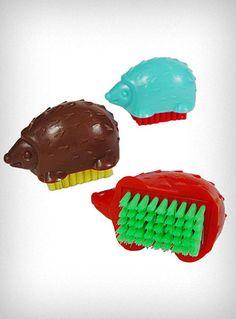 Happy Hedgehog Nail Brush$4.00
