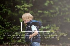 Check out Awakening - Photoshop Actions by Erin Hensley Photography on Creative Market