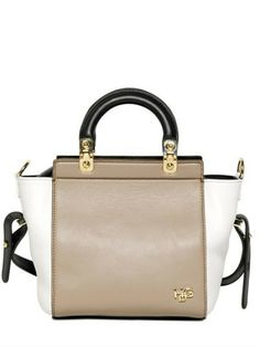 Givenchy Multicolor Mini Hdg Colour Block Chic Leather Bag