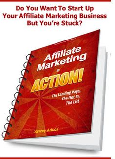 affiliate marketing in action is an ebook that helps you get started  very reasonably priced-step-by step!