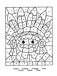 Color by Numbers Page - Print your free Color by Numbers page at AllKidsNetwork.com
