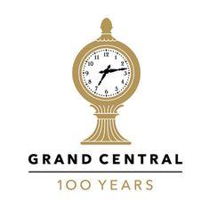 Grand Central Terminal Anniversary Logo | Pentagram